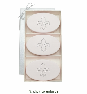 SIGNATURE SPA SATSUMA TRIO: THREE BARS FLEUR DE LIS