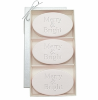 SIGNATURE SPA SATSUMA TRIO: THREE BARS MERRY & BRIGHT