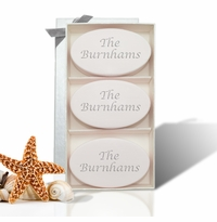 SIGNATURE SPA SATSUMA TRIO: THREE BARS PERSONALIZED