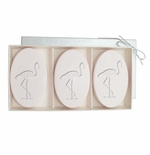 SIGNATURE SPA SATSUMA TRIO: THREE BARS PERSONALIZED FLAMINGO