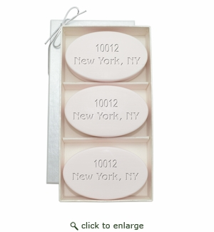 SIGNATURE SPA SATSUMA TRIO: THREE BARS PERSONALIZED ZIP CODE