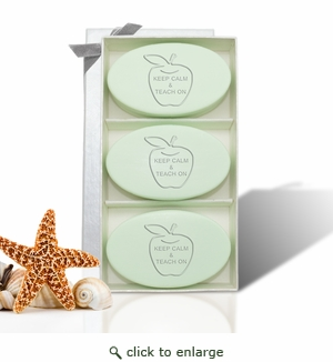 SIGNATURE SPA TRIO GREEN TEA: Keep Calm and Teach On