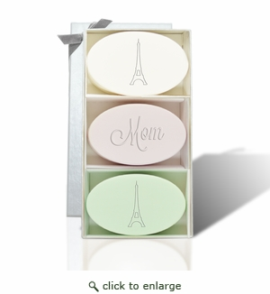 SIGNATURE SPA VERBENA SATSUMA GREEN TEA & BERGAMOT TRIO: MOM EIFFEL TOWER