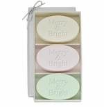 SIGNATURE SPA VERBENA, SATSUMA, GREEN TEA & BERGAMOT TRIO: THREE BARS MERRY & BRIGHT