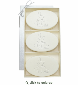 SIGNATURE SPA VERBENA TRIO: THREE BARS JOY TO THE WORLD