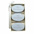 SIGNATURE SPA WILD BLUE LUPIN TRIO: THREE BARS PERSONALIZED