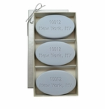 SIGNATURE SPA WILD BLUE LUPIN TRIO: THREE BARS PERSONALIZED ZIP CODE