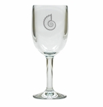 SPIRAL SHELL WINE STEMWARE - SET OF 4 (Unbreakable)