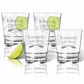 Tritan Double Old Fashioned Glasses 12oz (Set of 4) : Oars