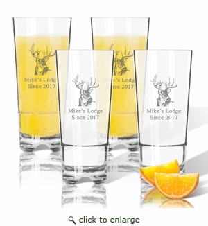 Tritan High Ball Glasses 16 oz (Set of 4): Buck Lodge