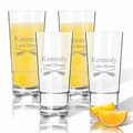 Tritan High Ball Glasses 16 oz (Set of 4) : Oars