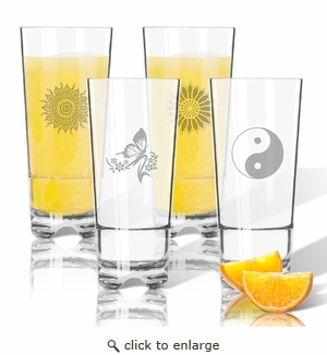 Tritan High Ball Glasses 16 oz (Set of 4) : Solstice