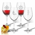 Tritan Wine Stems 12 oz (Set of 4): Nautical