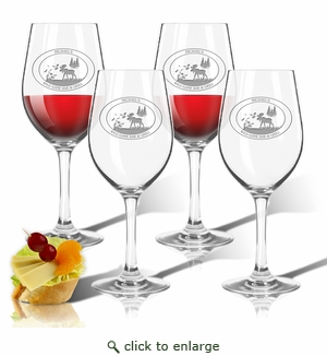 Tritan Wine Stems 12 oz (Set of 4) : Wild Game