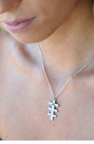 YOGAFORCE ARGENTIUM .935 STERLING SILVER A-LINE ICON