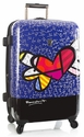 """Britto by Heys 26"""" Hardside Spinner - """"Heart with Wings"""""""