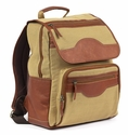 Claire Chase Canvas Executive Survival Backpack