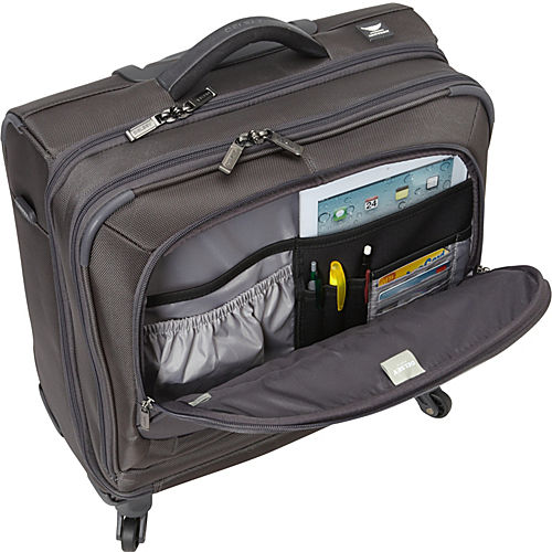 Delsey Helium Pilot 3 0 Spinner Trolley Tote Delsey