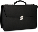 Jack Georges SOHO Double Gusset Flapover Briefcase