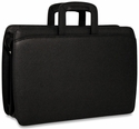 Jack Georges SOHO Double Gusset Top Zip Briefcase