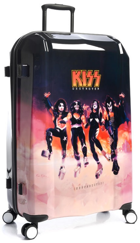 Kiss Band Luggage 3 Piece Set Destroyer