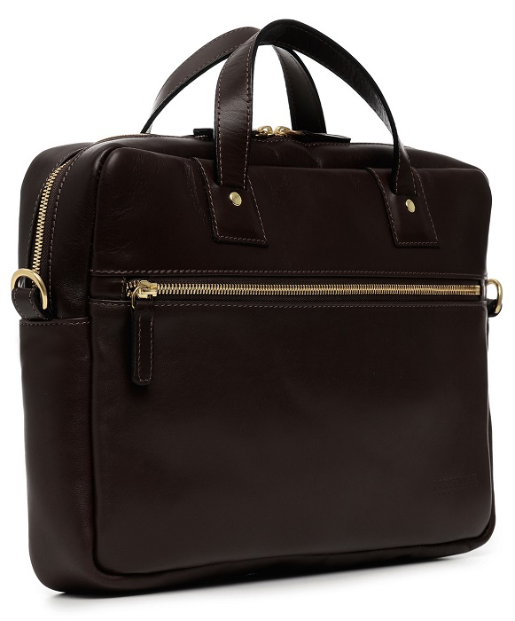 2d139f47001 Korchmar Lux Wesley Leather Briefcase
