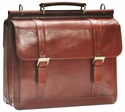 Mancini Signature Laptop Briefcase