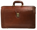 Mancini Laptop Compatible Litigator Briefcase