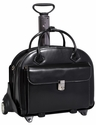 McKlein W Series Glen Ellyn Detachable-Wheeled Ladies Briefcase
