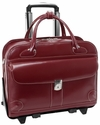 McKlein W Series Lakewood Detachable-Wheeled Ladies Briefcase