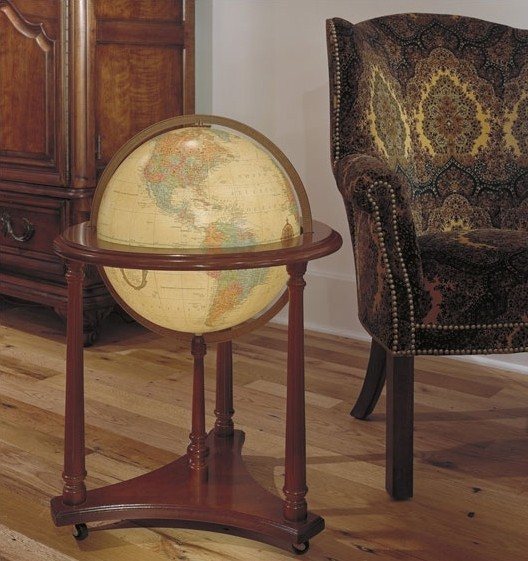 Replogle Lafayette Illuminated Antique Ocean Floor Globe