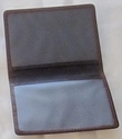 Leather Double ID Holder