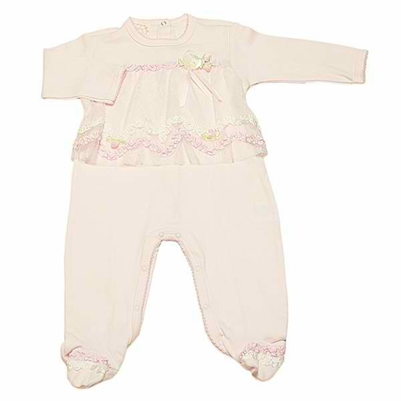 OUT OF STOCK Baby Biscotti Baby Biscotti - Sweet Chantilly Footie-