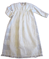 "Baby Biscotti ""English Eyelet"" Gown"