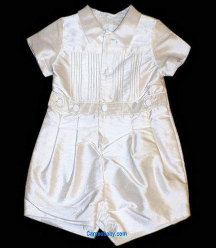 Baby Biscotti Precious Heirloom - Silk Romper