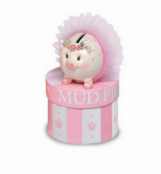 Ballerina Mini Piggy Bank