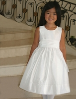 Bella Designs -Communion/Flower Girl-  Silk Dress -Sizes 3m to 10yr