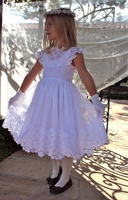 Bella Designs - Communion/Flower Girl -  European - Hand Made in the USA