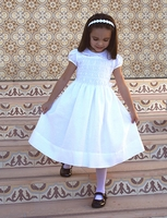 Bella Designs - Heirloom Hand Smocked Girls Dress