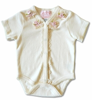 Biscotti Baby- 1PC Ivory -Size NB