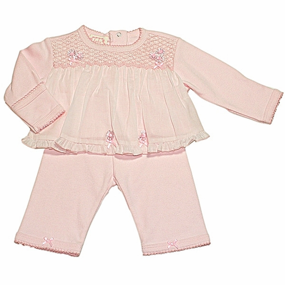 Biscotti Baby- *A Stich in Time* Top and Pants