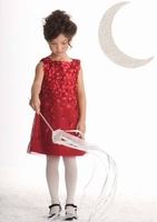 Biscotti Holiday Dress-*Falling For Dots
