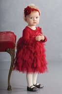 Biscotti Baby Girl's *Deck the Halls*  Sizes 9m to 24m