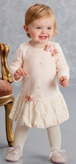 Biscotti Baby-Girl's Infant Anastasia Dress, Pink