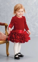 Biscotti Baby-Girl's Infant High Drama Dress, 18m only!