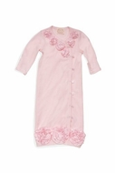 Biscotti Baby- Couture Cutie Gown in Ivory