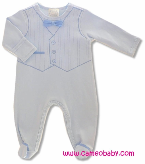 Biscotti Baby *Vested Interest* - 1PC w/Footie Size NB- 9M
