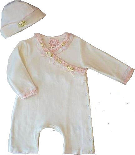 Biscotti Baby *Victorian Moments* 1PC- Size NB only