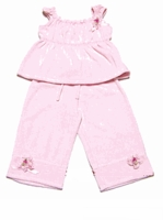 Biscotti Clothes- 2PC Pink- Size 4T,5