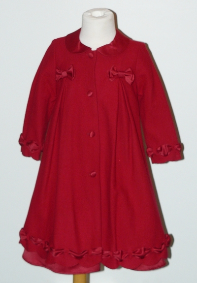 Biscotti Dress and Coat 2PC Set, Size 3T-4T